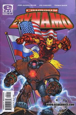 Crimson Dynamo Comics @ 99p