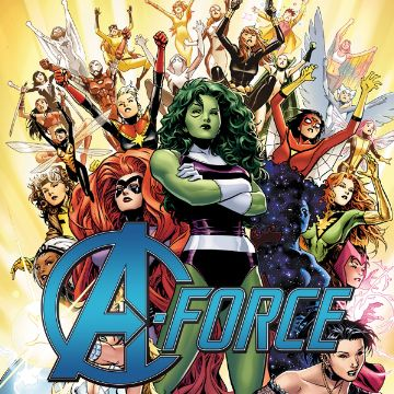 A-Force Volume 1 Comics