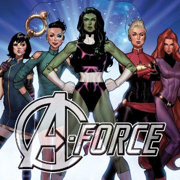 A-Force Volume 2 Comics