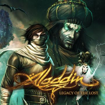 Aladdin Legacy of the Lost Comics