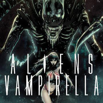 Aliens Vampirella Comics