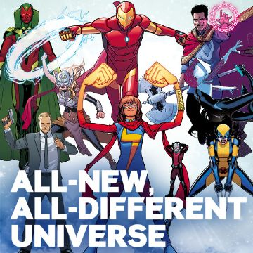 All New All Different Marvel Universe Comics