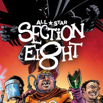 All Star Section Eight Comics