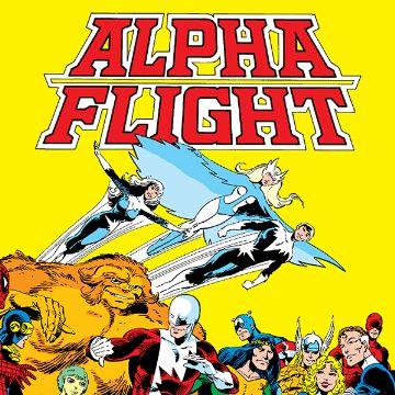 Alpha Flight Comics
