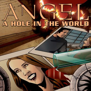 Angel Hole In The World Comics