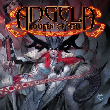 Angela Queen of Hel Comics