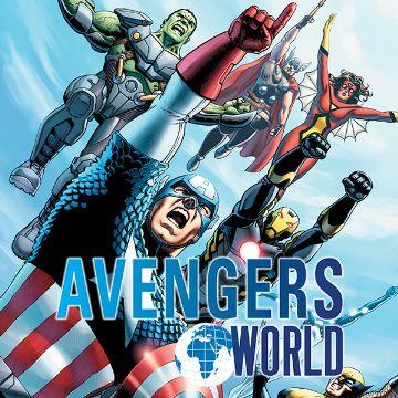 Avengers World Comics