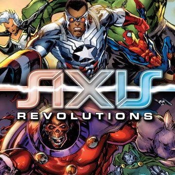 Axis Revolutions Comics