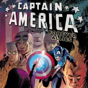 Captain America Forever Alllies