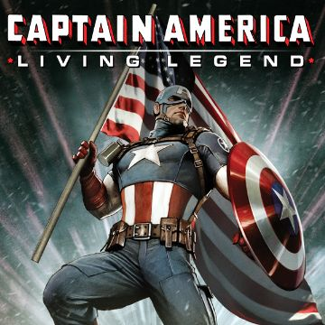 Captain America Living Legend Comics
