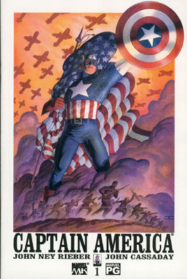 Captain America Comics Volume 4