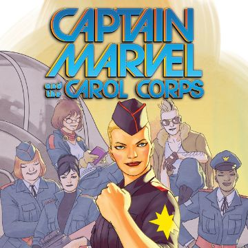 Captain Marvel and Carol Corps Comics