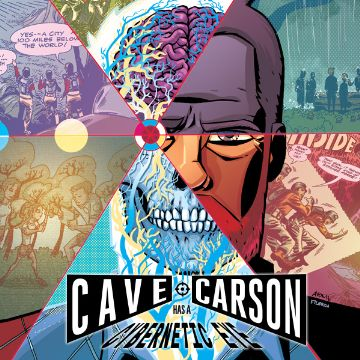 Cave Carson Has A Cybernetic Eye Comics
