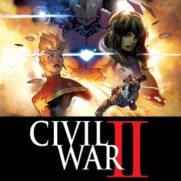 Civil War II Comics