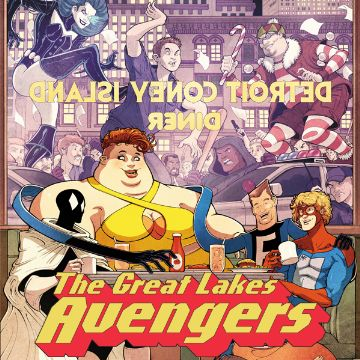Great Lakes Avengers Comics