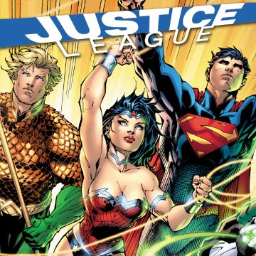 JUSTICE LEAGUE OF AMERICA GRAPHIC NOVELS