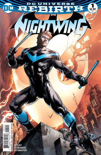 NIGHTWING VOLUME 4 #1 VARIANT EDITION