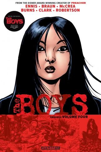 THE BOYS OMNIBUS VOLUME 4 GRAPHIC NOVEL