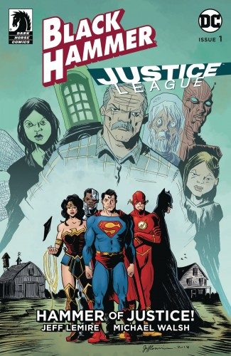BLACK HAMMER JUSTICE LEAGUE #1 COVER D LEMIRE