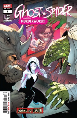 GHOST SPIDER ANNUAL #1 (2019 SERIES)