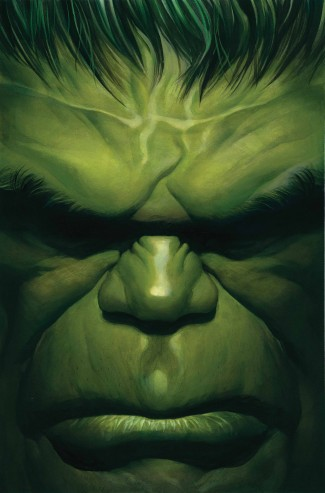 IMMORTAL HULK BY ALEX ROSS POSTER BOOK GRAPHIC NOVEL