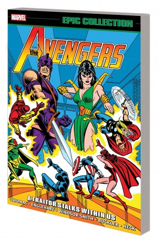 AVENGERS EPIC COLLECTION A TRAITOR STALKS WITHIN US GRAPHIC NOVEL