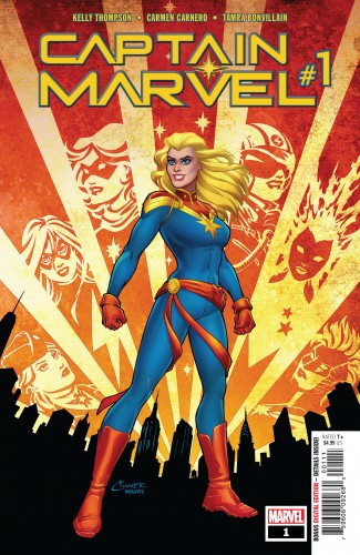 CAPTAIN MARVEL #1 (2019 SERIES)