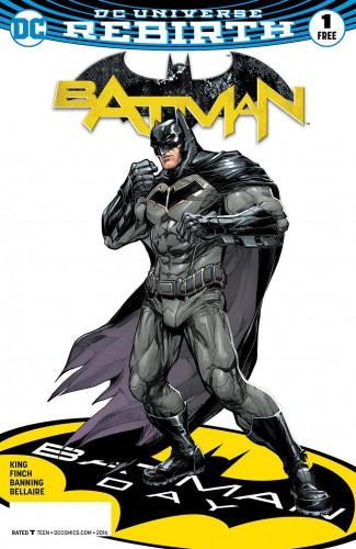 BATMAN DAY 2016 SPECIAL EDITION #1