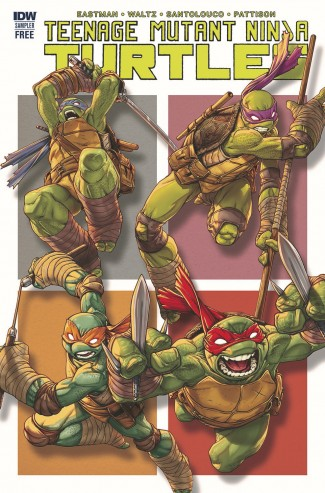 TEENAGE MUTANT NINJA TURTLES SAMPLER (2017)