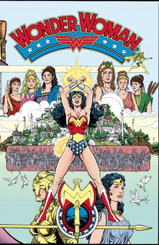 ABSOLUTE WONDER WOMAN GODS AND MORTALS HARDCOVER