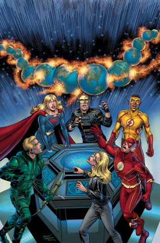 CRISIS ON INFINITE EARTHS ARROWVERSE DELUXE EDITION HARDCOVER