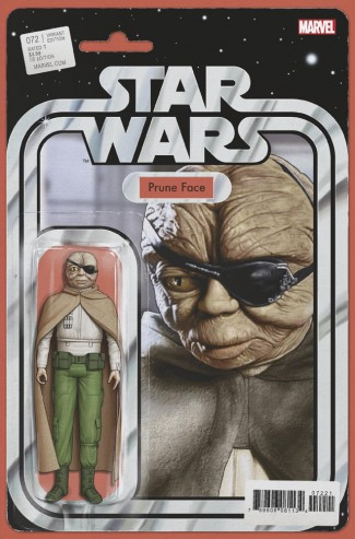 STAR WARS #72 (2015 SERIES) CHRISTOPHER ACTION FIGURE VARIANT