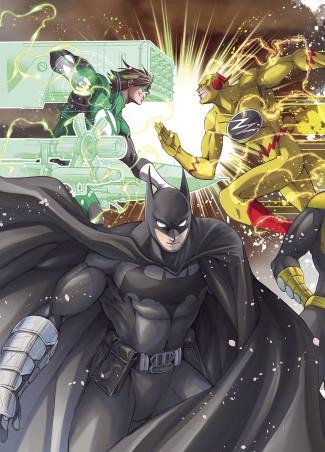 BATMAN AND THE JUSTICE LEAGUE MANGA VOLUME 3 GRAPHIC NOVEL