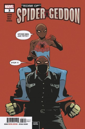 EDGE OF SPIDER-GEDDON #3 (2ND PRINTING)