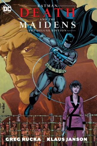 BATMAN DEATH AND THE MAIDENS DELUXE EDITION HARDCOVER