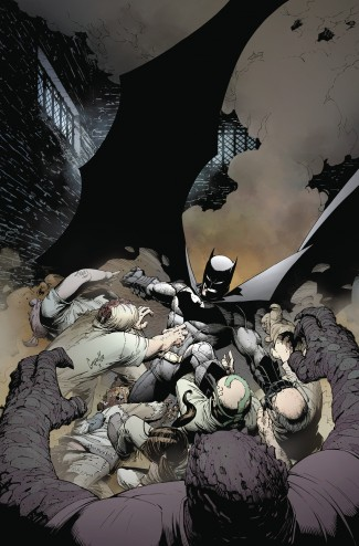 BATMAN BY SCOTT SNYDER AND GREG CAPULLO OMNIBUS VOLUME 1 HARDCOVER