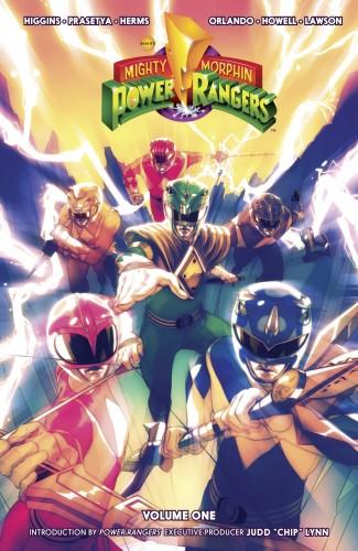MIGHTY MORPHIN POWER RANGERS VOLUME 1 GRAPHIC NOVEL