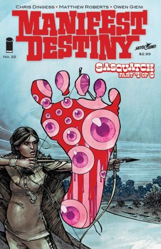 MANIFEST DESTINY #22
