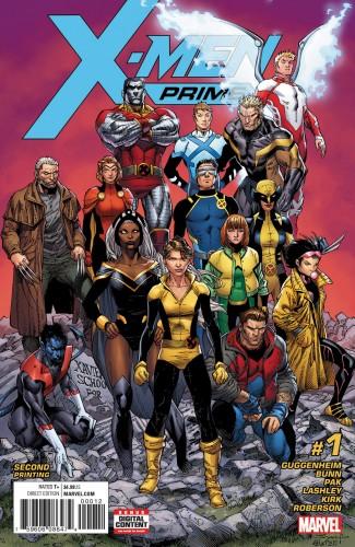 X-MEN PRIME #1 2ND PRINTING