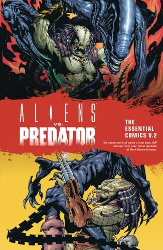 ALIENS VS PREDATOR THE ESSENTIAL COMICS VOLUME 2 GRAPHIC NOVEL
