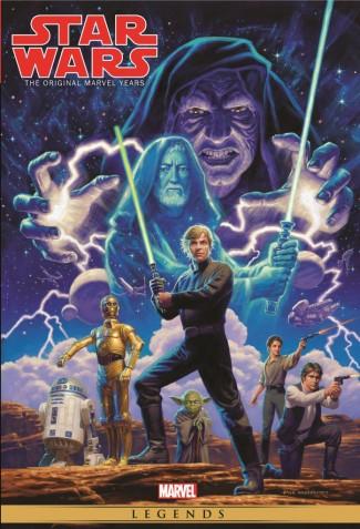 STAR WARS MARVEL YEARS OMNIBUS VOLUME 3 DM HILDEBRANDT VARIANT COVER