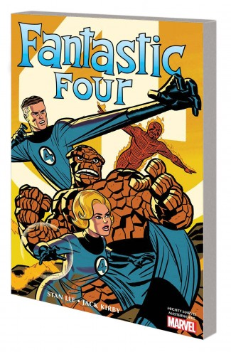 MIGHTY MARVEL MASTERWORKS FANTASTIC FOUR VOLUME 1 GREATEST HEROES GRAPHIC NOVEL