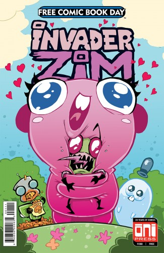 FCBD 2018 INVADER ZIM FLOOPSY BLOOPS SHMOOPSY