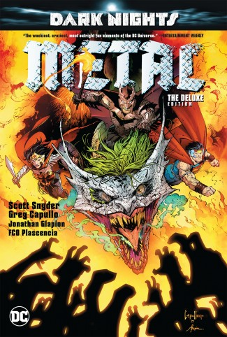 DARK NIGHTS METAL DELUXE EDITION HARDCOVER