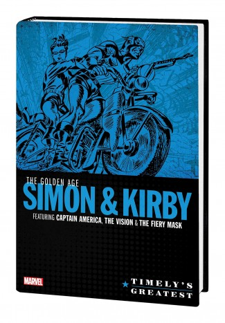 TIMELYS GREATEST THE GOLDEN AGE SIMON AND KIRBY OMNIBUS HARDCOVER