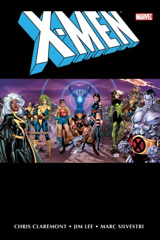 X-MEN BY CHRIS CLAREMONT AND JIM LEE OMNIBUS VOLUME 1 DM VARIANT HARDCOVER