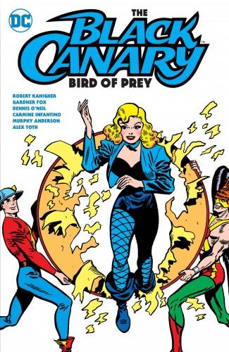 BLACK CANARY BIRD OF PREY GRAPHIC NOVEL