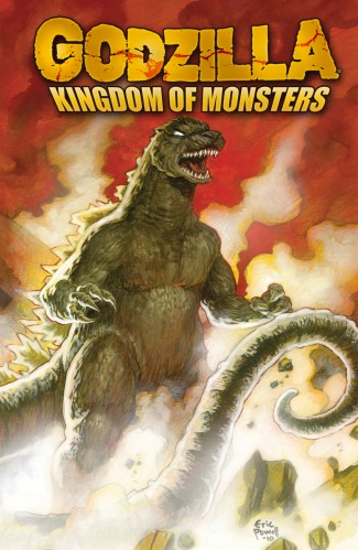 GODZILLA KINGDOM OF MONSTERS GRAPHIC NOVEL