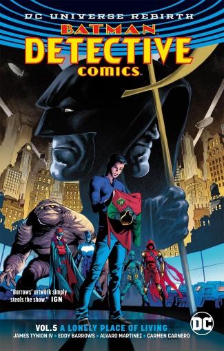 BATMAN DETECTIVE COMICS VOLUME 5 LONELY PLACE OF LIVING GRAPHIC NOVEL