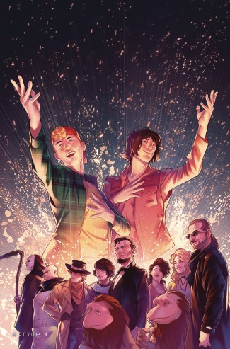 BILL AND TED OMNIBUS GRAPHIC NOVEL